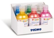 Tempere perlata 300 ml 6 pz colori assortiti primo - Z11793
