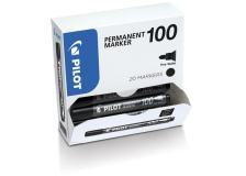 Bonus pack 15+5 marcatore permanente 100 nero p.tonda 4.5mm pilot - Z12559