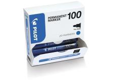 Bonus pack 15+5 marcatore permanente 100 blu p.tonda 4.5mm pilot - Z12560