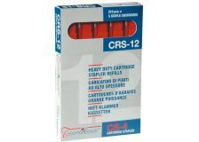 5 caricatori da 210 punti crs-12 mm rosso (fino a 80 fogli) - Z12772