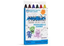 Astuccio 6 pennarelli colorati Jumbo Molors OSAMA - Z13127