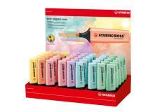 Display 45 evidenziatori Boss Original colori assortiti Pastel 70/45-2 Stabilo - Z13818