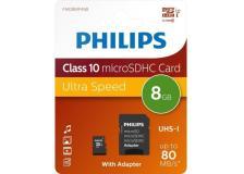 PHILIPS MIRO SDHC CARD 8GB CLASS 10 INCL. ADAPTER - Z14518