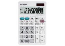 Calcolatrice da tavolo EL 330W, 10 cifre, Bianca - Z14622