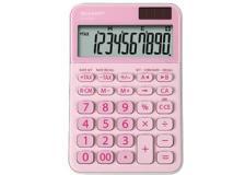 Calcolatrice da tavolo, EL M335 10 cifre, colore rosa - Z14631