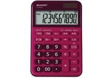Calcolatrice da tavolo, EL M335 10 cifre, colore rosso - Z14632