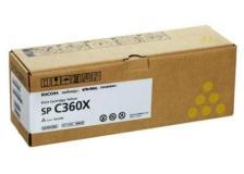 Toner Ricoh SPC360X (408253) giallo - Z15855