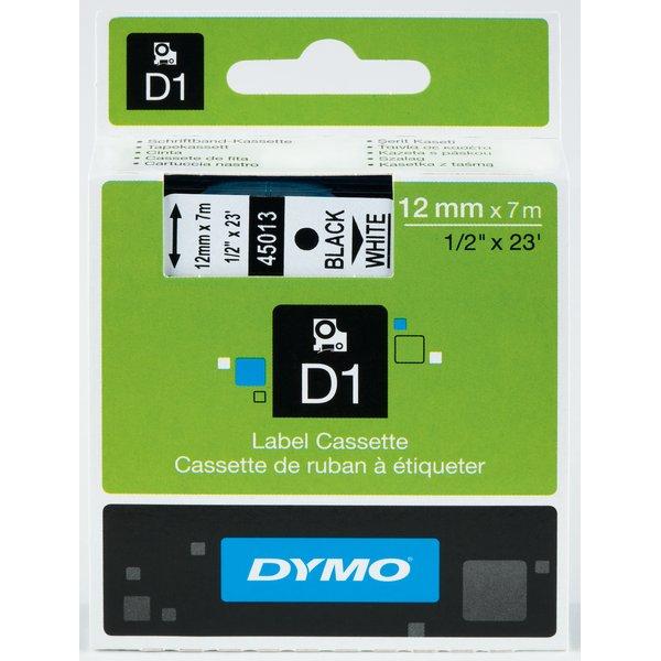 Nastro Dymo 12mm x 3,5m nylon - 16957 (S0718040) nero-bianco - 092297