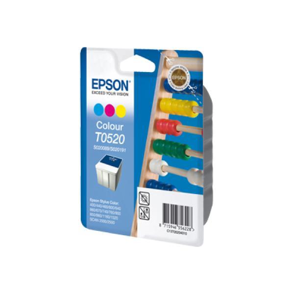 Cartuccia Epson T0520 (C13T05204010) 3 colori - 092769