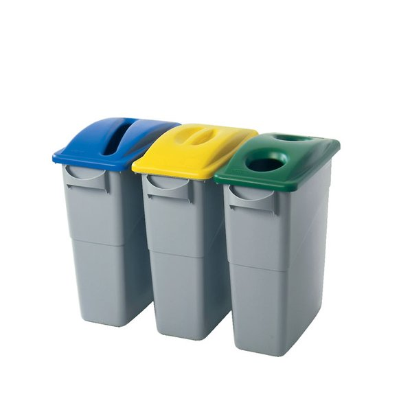 rubbermaid - contenitore - contenitore per raccolta differenziata