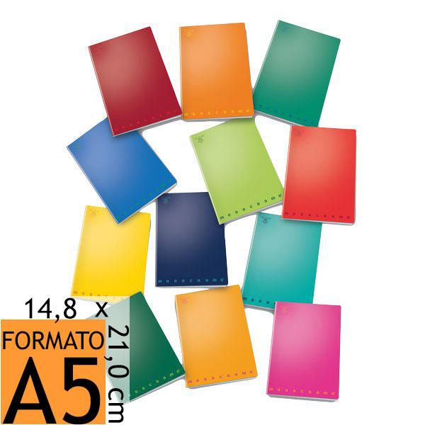 quaderni  Quaderni a quadretti Pigna Monocromo - 02217780Q - Conf. 10 Pz ...