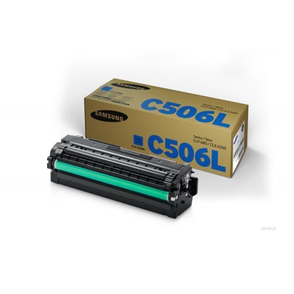 Toner Samsung CLT-C506L (SU038A) ciano - 140097