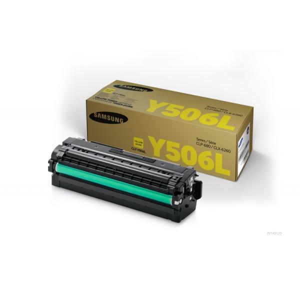 Toner Samsung CLT-Y506L (SU515A) giallo - 140112