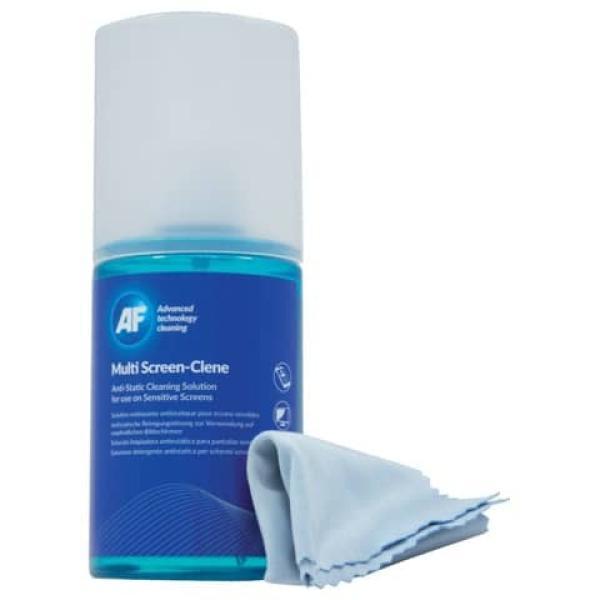 Kit da viaggio spray 200 ml e panno in microfibra AF - AMCA_200LMF