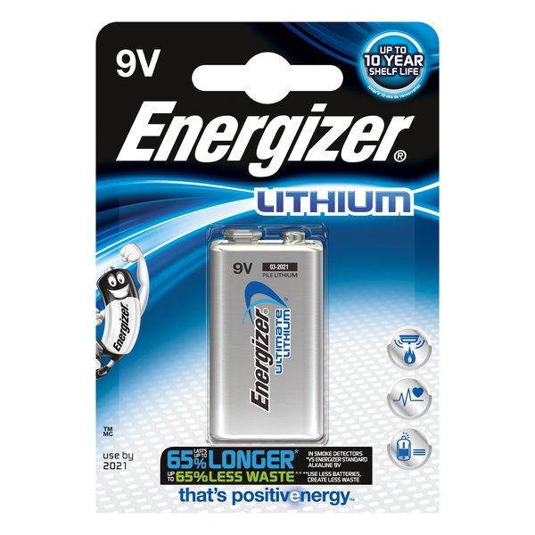 Pile Lithium Energizer - transistor - 9V - 635236