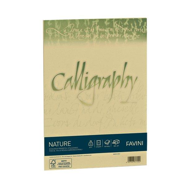 Calligraphy Nature Favini - Agrumi - fogli - A4 - 200 g - A69Q564 (conf.50)