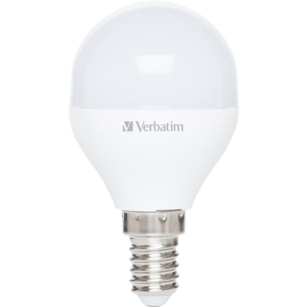 Lampadine Led Verbatim - Mini Globe - E14  - 3.1W - 250 - 2700 k - 80.0x45.0mm - 52639