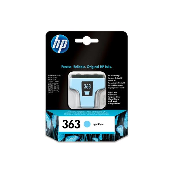 Cartuccia HP 363 (C8774EE) ciano chiaro - 227335
