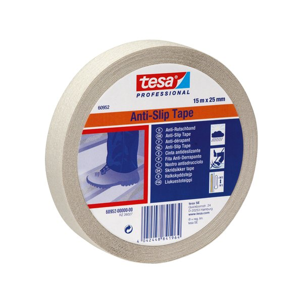Nastro Antisdrucciolo Tesa - Trasparente - 15 M X 25 Mm - 60952-00000-00