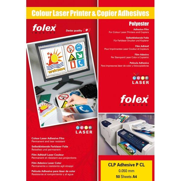 Film adesivo per stampanti Folex - A3 - trasparente - 2999C.050.43100 (conf.50)