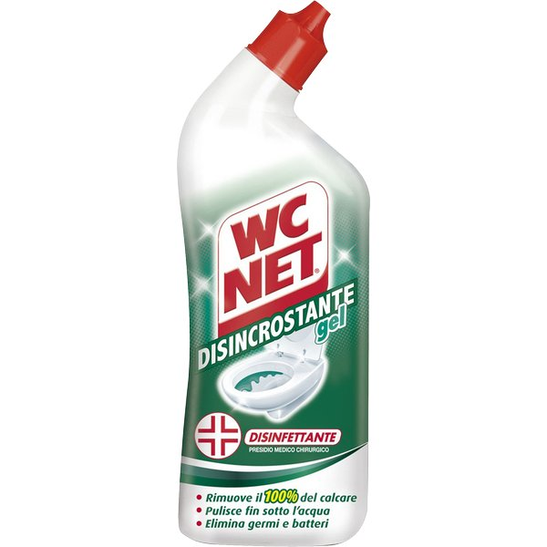 Wc net disincrostante e disinfettante wc net gel m77852 contenuto 700 ml confezione 1 - Prodotti pulizia bagno ...