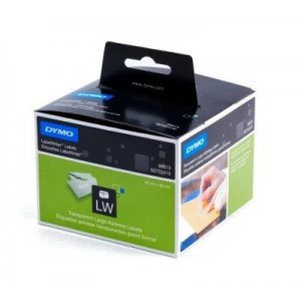 Etichette Dymo 89x36 mm - 99013 (S0722410)trasparente  - 572785