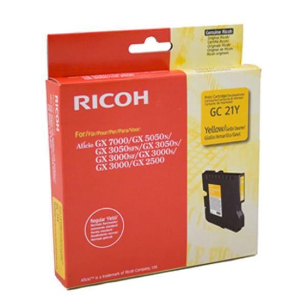 Gel Ricoh GC21 K202/G (405535) giallo - 779571