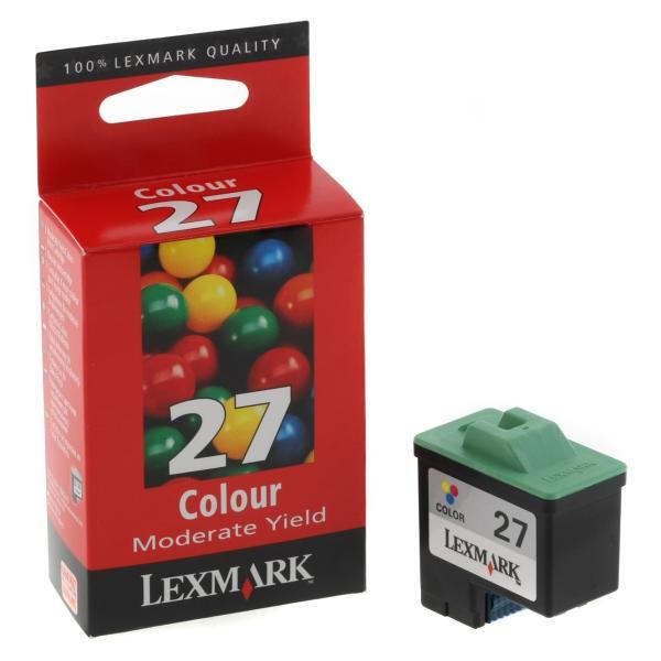 Cartuccia Lexmark #27 (10NX227E) quadricromia - 789739