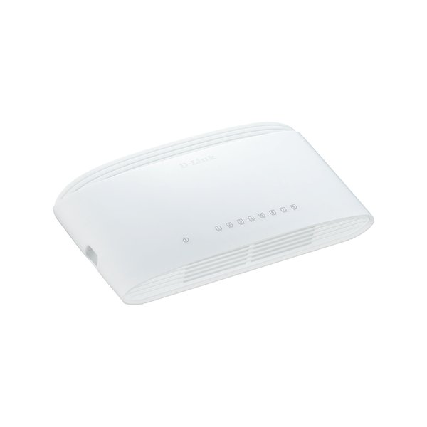 Ethernet Switch D-Link GigaExpress DGS-1008D 8 Porte Ingram - bianco - DGS-1008