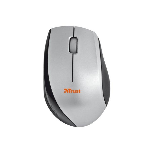 Mini mouse ottico wireless Isotto Trust - grigio - 17233