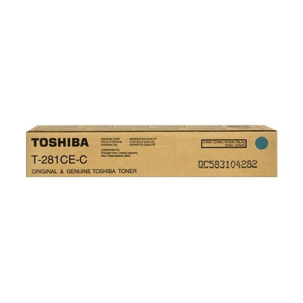 Toner Toshiba T-281CE-EC (6AK00000046)ciano  - U00456