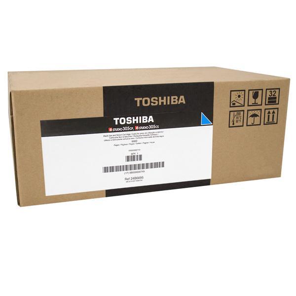 Toner Toshiba T-305PC-R (6B000000747)ciano  - U00458
