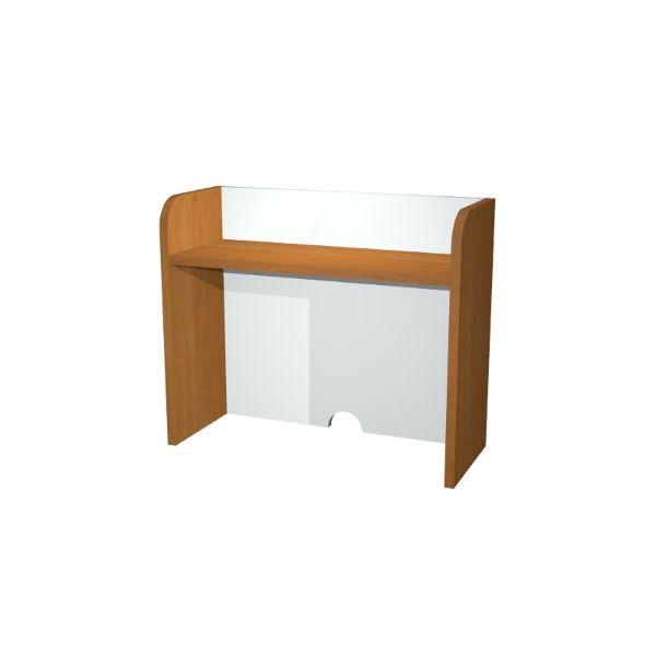 Sopralzo per mobile punto caffè Artexport - Z15379 - noce e bianco