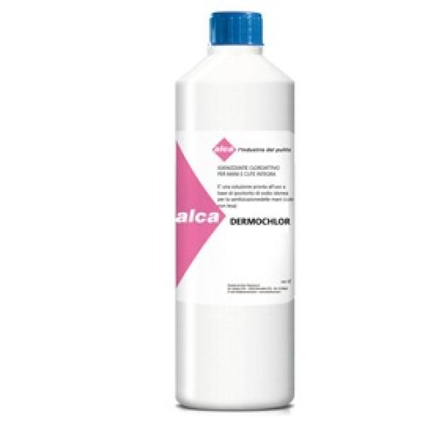 Igienizzante cloroattivo per mani 1Lt DERMOCHLOR Alca - Z15967