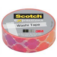 Nastri adesivi Scotch® Expression Tape - 15 mm x 10 m - tramonto - C314-P19