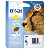 Cartuccia Epson T0714/blister RS+AM+RF (C13T07144021) giallo - Y09543