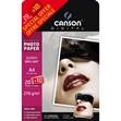 Carta fotografica Ultimate Canson - lucida - A4 - 270 g/mq - 200004331 (conf.20+10)
