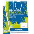 Ricambi rinforzati Blasetti a righe - A4 - C - 2332 (conf.40)