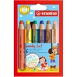 Pastelli Woody 3 in 1 Stabilo - 8806 (conf.6)