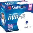 DVD Verbatim Verbatim - DVD-R - 4,7 Gb - 16x - Stampabile - Jewel case - 43521 (conf.10)
