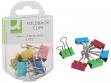 Molle double clip Q-Connect 19 mm colori assortiti Scatola da 6 pezzi - KF02035 - P00358