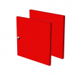 Artexport VESTA COLORE 2AMAXC/3 32,2x1,6x32,1 cm rosso
