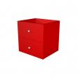 Artexport VESTA COLORE 2CMAXC/R 32,5x28,8x32,5 cm rosso