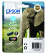 Cartuccia Epson 24XL/blister RS+AM+RF (C13T24354020) ciano chiaro - Y09603