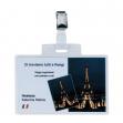 100 portanome pass 4e 11x7cm c/clip in metallo sei rota - Z00232