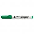 Pennarello a secco tratto memo puntatonda verde per lavagna - Z00448