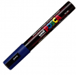 Marcatore uni posca pc5m blu p. media - Z00650