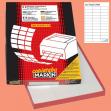 Etichetta adesiva c/506 bianca 100fg A4 70x25mm (36et/fg) markin - Z00733