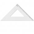 Squadra profil alluminio 45° 35cm arda - Z01000