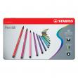 Scatola metallo 40 pennarelli pen 6840 stabilo - Z01013
